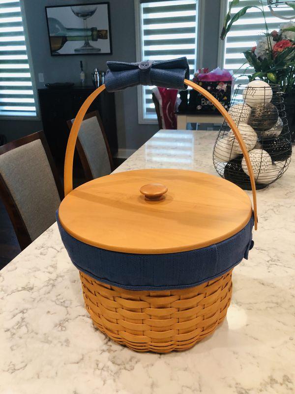 Longaberger 2001 Large Fruit Basket Set