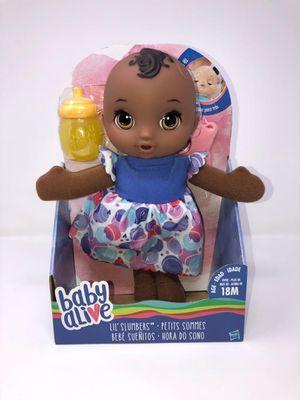 Baby Alive Lil Slumber Doll for Sale in Sandy Springs, GA