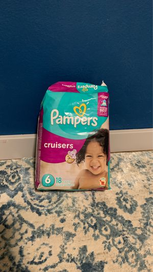 Size 6 Pampers for Sale in Olympia, WA