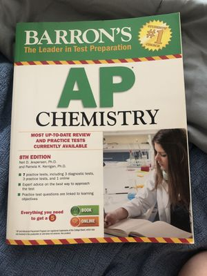 Barron's AP Chemistry 8th Edition Textbook for Sale in Kansas City, MO