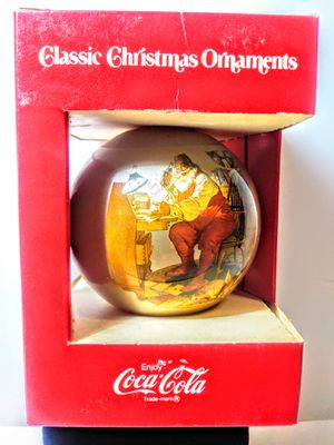 Vintage Coca Cola Santa Christmas Ornament for Sale in Garland, TX