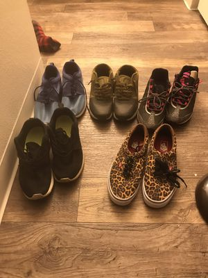 20$ a piece various shoes for Sale in Sacramento, CA