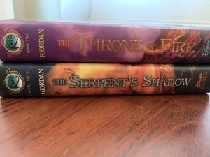 The Kane Chronicles Books 2 & 3 (LIKE NEW CONDITION) for Sale in Spring Valley, CA