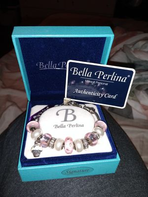 Bella Perlina charm bracelet for Sale in Swansea, SC