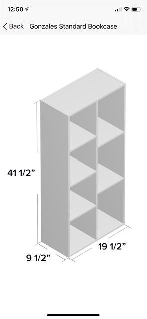 Bookshelves Room Divider