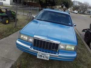 90 Lincoln runs great for Sale in Fort Worth, TX