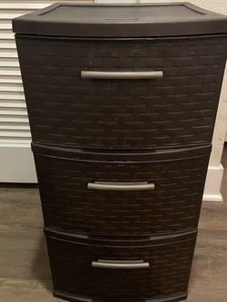 Plastic 3 Drawer Storage for Sale in Huntington Beach,  CA