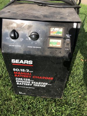 Sears battery charger for Sale in Oshkosh, WI