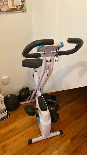 XSpec Portable Cycling Bike and weights included for Sale in Jersey City, NJ