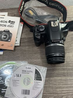 Canon EOS Rebel Xsi Camera With Bag for Sale in Tempe,  AZ