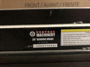 "Sheet metal bending brake 36"" for Sale in Riverside, CA"
