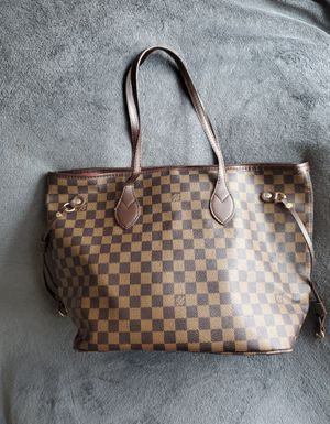 Brown Checked Tote for Sale in Fort Worth, TX