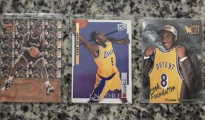2 Kobe Bryant Rookies & 1 Shaquille O'Neal for Sale in Bridgeport, CT