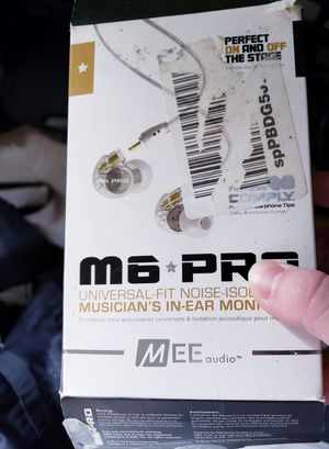 M6 Pro In-Ear Monitors for Musicians Mee Audio for Sale in Kent, WA