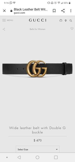 Guchi belt for Sale in Phoenix, AZ