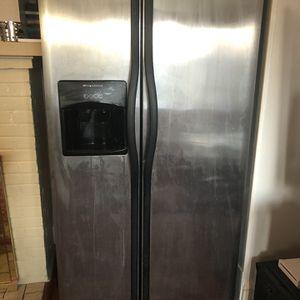 Fridigidaire 26 Cubic Foot Refrigerator Fridge Side By Side Freezer for Sale in Hampton, VA