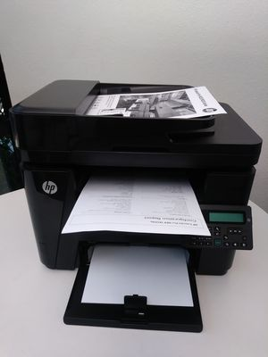 Laser Printer Hp LaserJet PRO MFP M225dn DUPLEX/NETWORK/ Multifunctional. for Sale in Phoenix, AZ