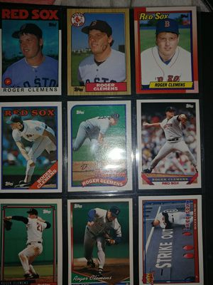 Roger Clemens baseball cards for Sale in Dow, IL