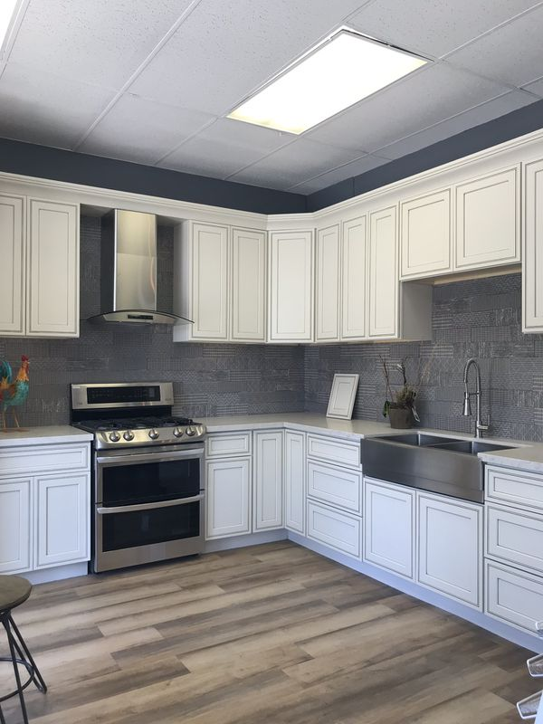 Cabinet - flooring-air conditioning-appliances