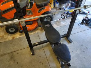 Marcy pro weight bench for Sale in Leesburg, FL