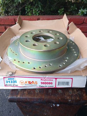 For Hyundai Tiburon (2005-2010). Raybestos 980086 Brake Rotors. Brand New. Price for both. for Sale in Fort Lauderdale, FL