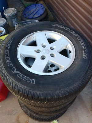 Jeep wheels and tires for Sale in San Diego, CA