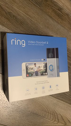 Security camera :Ring video Doorbell 2 for Sale in Pleasant Grove, UT