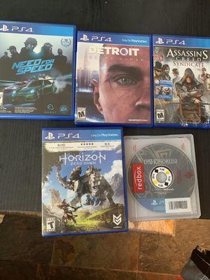 PlayStation 4 games for Sale in Little Egg Harbor Township, NJ
