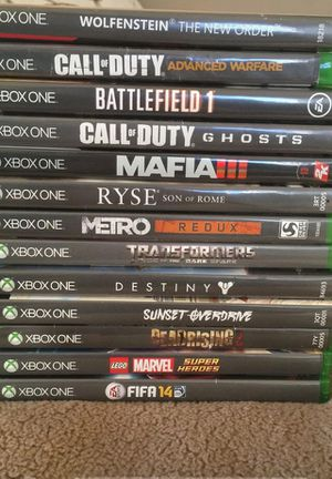 Xbox One games for sale for Sale in Los Angeles, CA