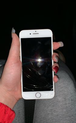 iPhone 8 cracked at the bottom perfectly fine for Sale in Chesterfield,  VA