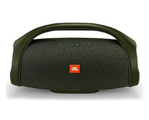 Brand new JBL Boombox Forest Green. Rechargeable speaker. Waterproof. Powerbank. Indoor and outdoor mode. New never opened. Nuevos en caja. for Sale in Miami, FL