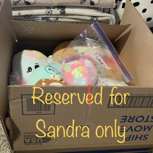Plush Bundle Reserved For Sandra Only for Sale in Arlington, TX