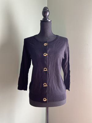 Black cardigan with toggle buttons for Sale in Bristow, VA