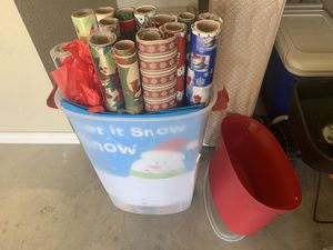 Wrapping paper caddy and storage for Sale in Abilene, TX