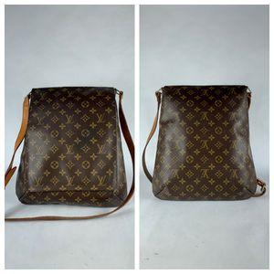 Louis Vuitton Monogram Musette Cross Body Shoulder Bag SD0062 Entrupy Authenticated for Sale in Boca Raton, FL
