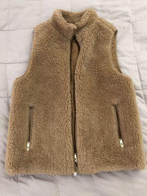 J Crew Women's Faux Fur Vest Size Medium for Sale in Culver City, CA