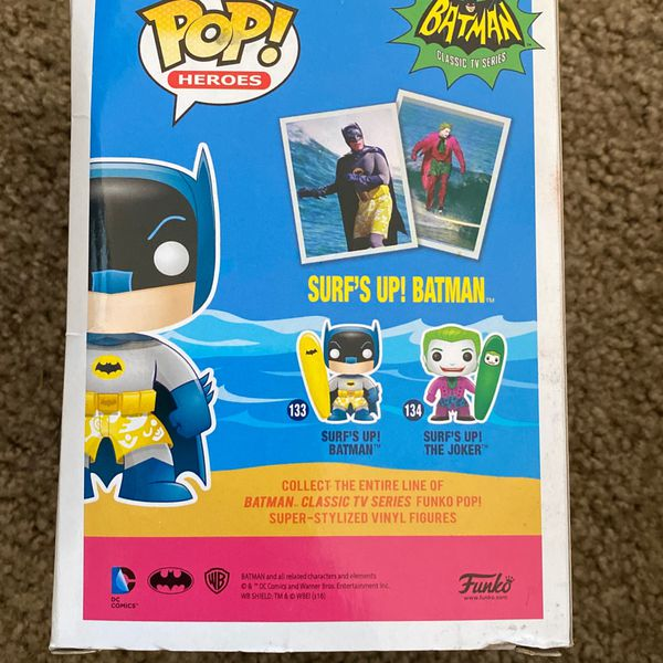 Batman Surfs Up Pop Heroes Figure