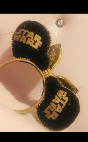 Disney ears custom made mickey ears head bands Star Wars, Toy Story, Lion King, Princess for Sale in Riverside, CA