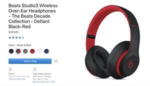 Beats studio3 wireless for Sale in Williamsport, PA