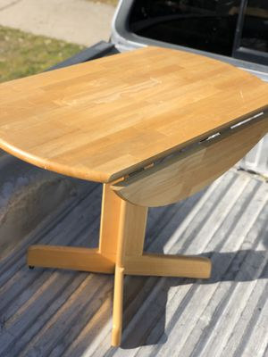 Drop down leaf Wood Table for Sale in Fresno, CA