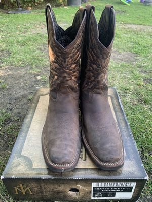 MONTERO BOOTS COWBOY WORK BOOTS 8 1/2 for Sale in Los Angeles, CA