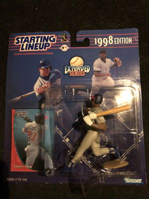 Starting Lineup Sammy Sosa Action Figure for Sale in Austin, TX
