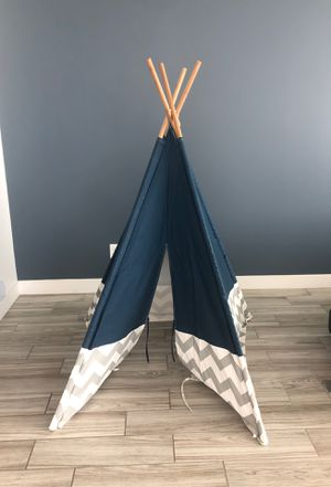 Kids Teepee play tent for Sale in Tempe, AZ
