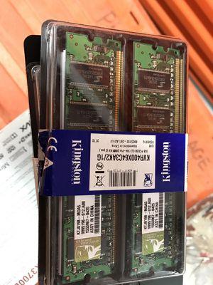 13 brand new packs of desktop computer ram. Cheap for Sale in Denver, CO