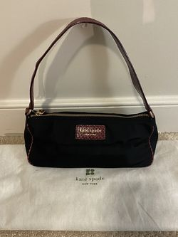 Kate Spade Black Purse With Cranberry Accents for Sale in Arlington,  VA