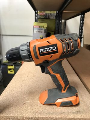 RIDGID 18V CORDLESS 1/2 IN. COMPACT DRILL/DRIVER for Sale in Garden Grove, CA