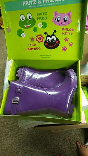 Purple Rain Boots size 1 for Sale in Arcadia, CA