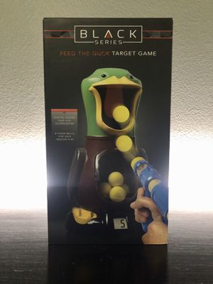 BLACK SERIES FEED THE DUCK TARGET GAME TOY for Sale in Modesto, CA