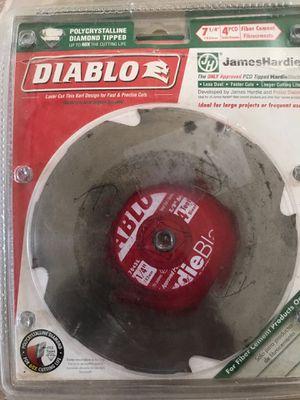 Diablo 7-1/4 in. Laser cut Thin Kert Saw Blade 2pics for Sale in Lawrenceville, GA