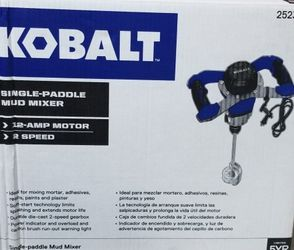 Kobalt Speed-Paddle Mud Mixer for Sale in San Francisco,  CA